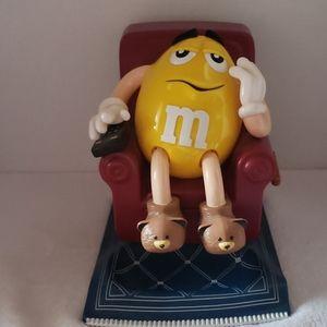 M& M Vintage Candy Dispenser Yellow Peanut